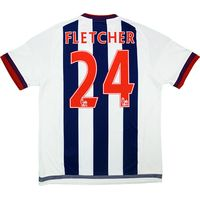 2015-16 West Brom Home Shirt Fletcher #24 *w/Tags*