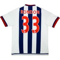 2015-16 West Brom Home Shirt Rondon #33 *w/Tags*