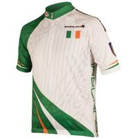 Endura Coolmax Printed Ireland Flag Short Sleeve Jersey