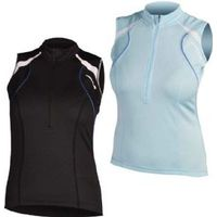 Endura Women`s Sleeveless Rapido Jersey