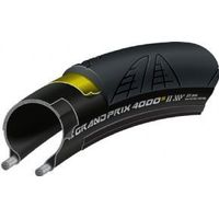 Continental Gp4000 S Ii 700 X 20c Black Tyre - Free Tube To Fit This Tyre