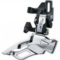 Shimano FD-M981 XTR 10spd triple front derailleur conventional swing dual-pull