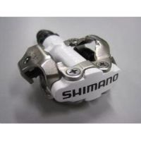 Shimano M520 Mtb Spd Pedals - Two Sided Mechanism White