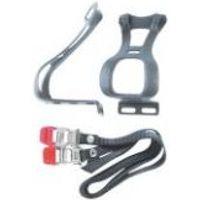 Delta toeclip and strap set
