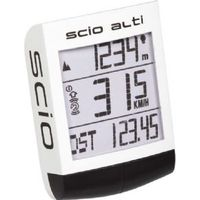 Pro SCIO alti 16-function wireless cycle computer with altimeter