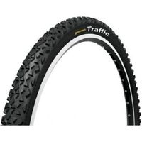 Continental Traffic 26 X 2.1 Inch Reflex Black Tyre With Free Tube