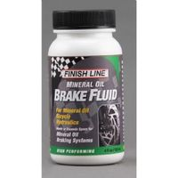 Finish Line Mineral oil brake fluid 4 oz / 120 ml