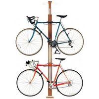 Gearup Oakrak Floor-to-ceiling 2 / 4-bike Rack - Walnut
