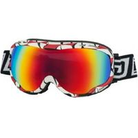 Dirty Dog Bug Snow Goggles White Red Black/grey Black Fusion Mirror 54127