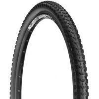 Nutrak 27.5 X 2..35 Inch Mtb Paddle Tyre Black With Free Tube