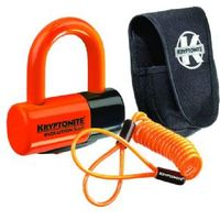 Kryptonite Evolution Series 4 Disc Lock - Premium Pack Pouch And Reminder Cable