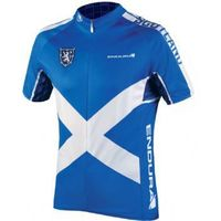 Endura Coolmax Printed Scotland Jersey 2