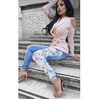 iKrush Luxy Skinny Lace Jeans