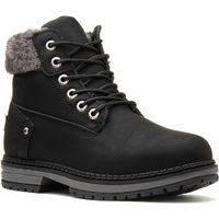 Womens Ground Works Honey Leather Safety Boot