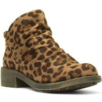 Lilley Womens Biker Boot with Detailed Zip