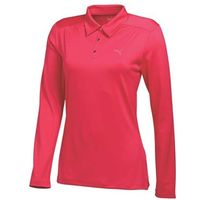Puma Golf Ladies Long Sleeve Polo Shirt