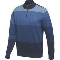Puma Golf Mens GOTIME Quarter Zip Sweater