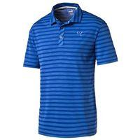 Puma Golf Mens Mixed Stripe Polo Shirt