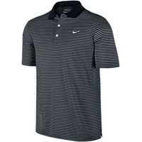 Nike Mens Victory Striped Polo Shirt (Logo On Chest)