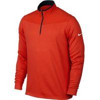 Nike Mens Dri-Fit Half Zip Long Sleeve Top