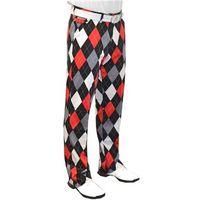 Royal And Awesome Diamonds In The Rough Golf Trouser