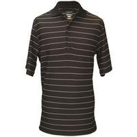 Greg Norman Mens Protek Fine Stripe Polo Shirt