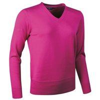 Glenmuir Ladies Yasmin Cotton V-Neck Sweater