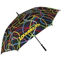 LOUDMOUTH 64 inch Double Canopy Scribblz Umbrella