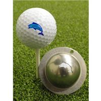 Tin Cup Ball Marker - Angler