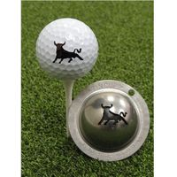 Tin Cup Ball Marker - Bull Market