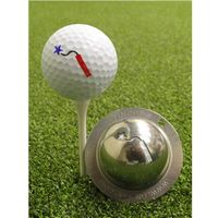 Tin Cup Ball Marker - Light it Up