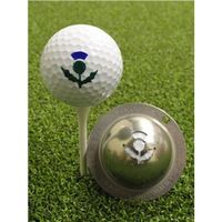 Tin Cup Ball Marker - Thistle