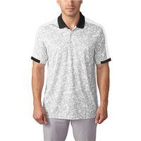 Adidas Mens climacool Engineered Camo Block Polo Shirt