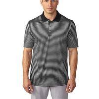 Adidas Mens Tournament 3-Colour Stripe Polo shirt
