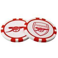 Arsenal Poker Chip Ball Marker Set