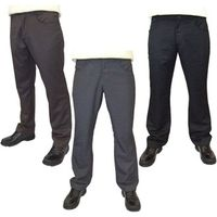 Guide London Mens Plain Golf Trouser (Round Pockets)