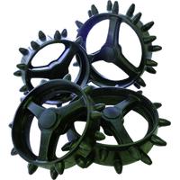 The Hedgehog Fairway 4 Wheel Set (MicroCart Trolley)