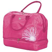 Flower Embroidered Holdall