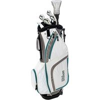 Wilson Ladies Prostaff HDX Combo Half Golf Set (Graphite Shaft)