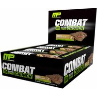 MusclePharm Combat Crunch Bars 12 Bars  Chocolate Peanut Butter Cup
