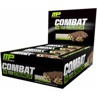 MusclePharm Combat Crunch Bars 12 Bars  Chocolate Chip Cookie Dough