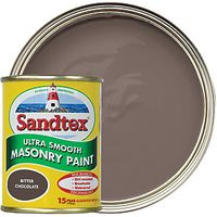 Sandtex Smooth Masonry Bitter Chocolate 150ml