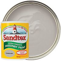Sandtex Smooth Masonry Plymouth Grey 5L