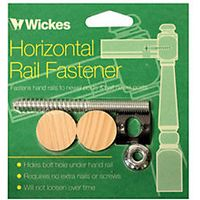 Wickes Horizontal Handrail Fastener Kit