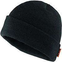 Scruffs Knitted Thinsulate Beanie Hat One Size Black