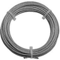 Wickes Galvanised Steel Wire Rope 4mmx10m