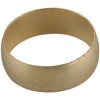 Wickes Compression Brass Olive 15mm PK50