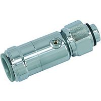John Guest Speedfit Isolating Valve Chrome 15mm