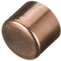 Wickes End Feed Stop End 15mm Pack 2
