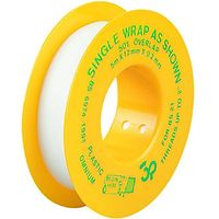 Wickes PTFE Gas Tape 12mm x 5m